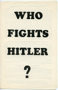 Who fights Hitler?