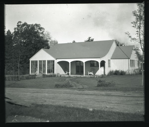 4-H Club House, Massachusetts State College. 16