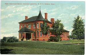Hatch Experiment Station, Chemical Laboratory, M.A.C., Amherst, Mass.