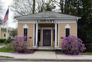 Haydenville Public Library: front exterior