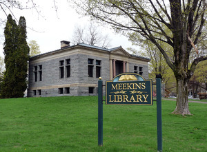 Meekins Public Library: view from the front