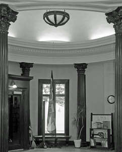 Arms Library: interior of entryway