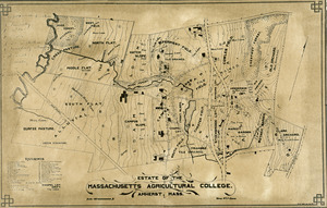 Estate of the Massachusetts Agricultural College, Amherst, Mass.