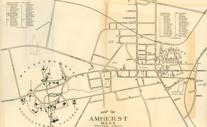 Map of Amherst, Mass.