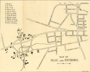 Map of M.A.C. and environs
