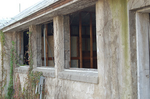 Windows in the Milking building, Cow Barn