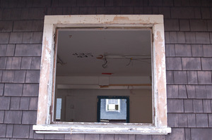 Window in the Milking Bungalow