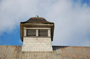 Cupola on top of the Queen Anne Horse Barn