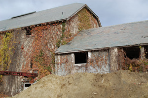 Clipped gable end, Cow Barn