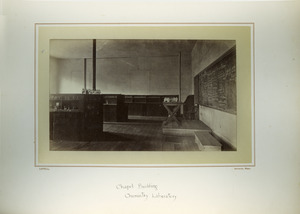 Chapel Building, chemistry laboratory, Massachusetts Agricultural College