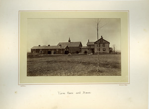 Farm house and barns, Massachusetts Agricultural College
