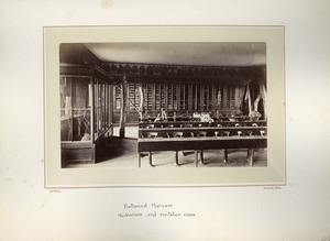 Botanical Museum, Herbarium and recitation room, Massachusetts Agricultural College