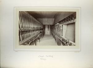 Chapel Building Armory, Massachusetts Agricultural College