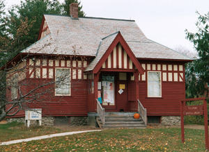 M. N. Spear Public Library: exterior