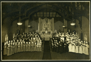 Choirs of the Chapel of the Comforter, Greenwich Village
