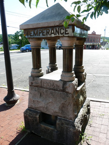 Woman's Christian Temperance Union water fountain, Orange, Mass.