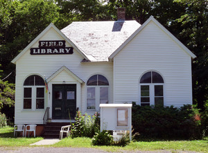 Field Memorial Library, Northfield, Mass.: front entrance