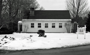 Moore-Leland Library, North Orange, Mass.: side view