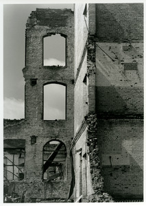 Tower and rubble