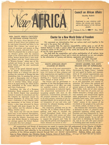 New Africa volume 2, number 5