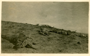After the battle at Deir Sneid