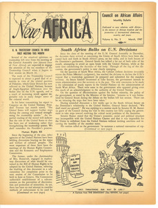 New Africa volume 6, number 3