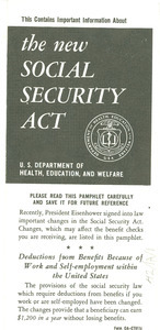 The new social security act