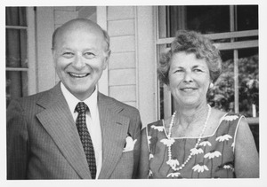Henry Koffler with his wife Phyllis