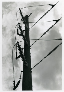 Electrical pole and wires