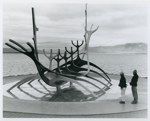 Harbor sculpture