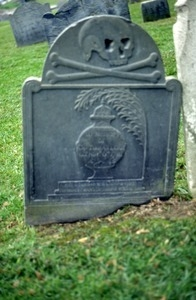 Point of Graves Burial Ground (Portsmouth, N.H.) gravestone