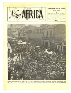 New Africa volume 5, number 6