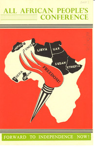 All African People's Conference leaflet