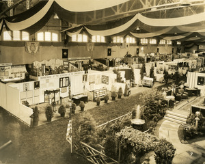 Department of the Secretary of the Commerce exhibit booth