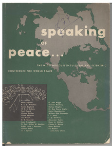Cultural and scientific conference for world peace report