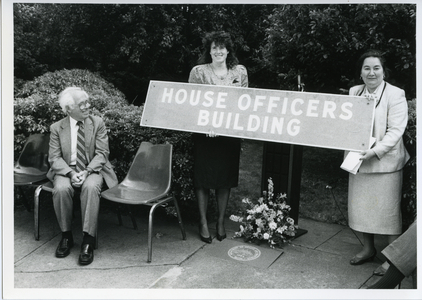 """A Ceremony Commemorating the House Officers Building"""