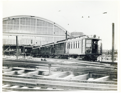 014 and Train at Sullivan Square Terminal