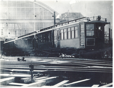 014 and Train at Sullivan Square Terminal, training trip