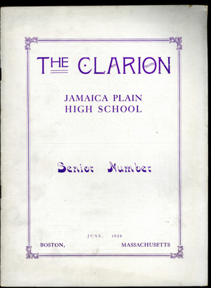 The Clarion Volume XIII Number 5