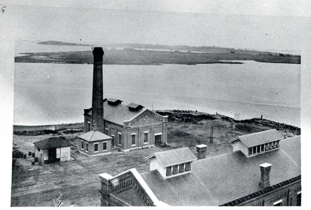 Southeast corner of Boston Gas Company property, Commercial Point