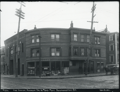Andrew Square Fire Station and 509 - 507 Southampton Street