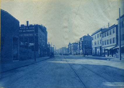[1299-1303 Tremont Street looking east]