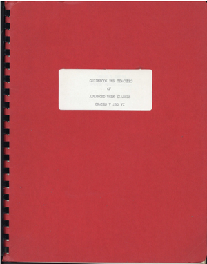 School Department Publications