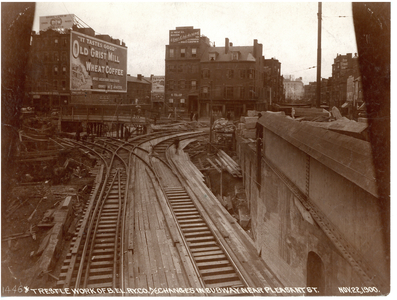 Changes in the subway near Pleasant Street