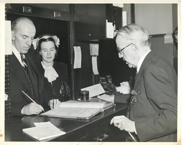 Application for nomination papers, Boston City Hall