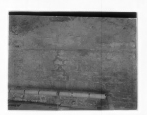 Crack in n. wall of Old South Meeting House about 10' from Washington St. face, Boston, Mass., December 4, 1913