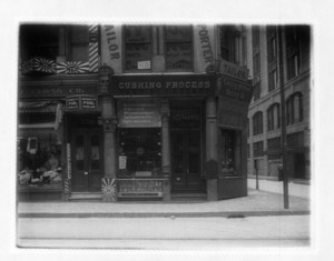 Building 580 Washington St., buildings east side Washington St., Boston, Mass., ca. 1900