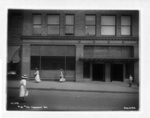 Nos.131-134 Tremont Street, Boston, Mass., August 6, 1910