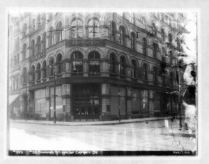 55 Summer Street corner of Chauncy Street, Boston, Mass., March 17, 1912