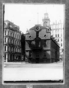 Easterly end of Old State House, Boston, Mass., March 23, 1902